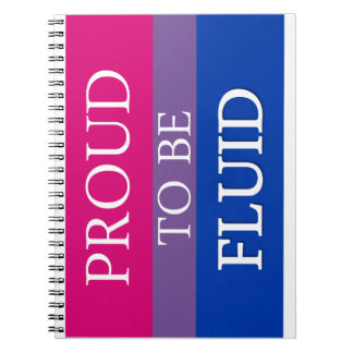 Proud to Be Fluid Spiral Note Books