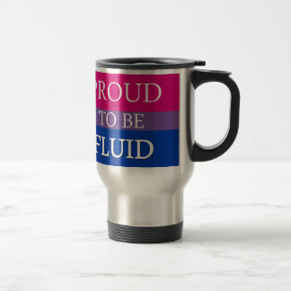 Proud to Be Fluid Stainless Steel Travel Mug