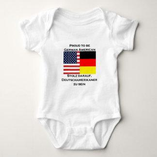 Proud to be German American Baby Bodysuit