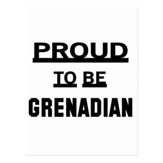 Proud to be Grenadian Postcard