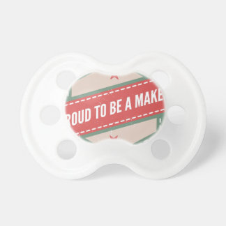 Proud to Be has Maker vintage logo Dummy