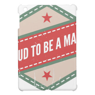 Proud to Be has Maker vintage logo iPad Mini Cover