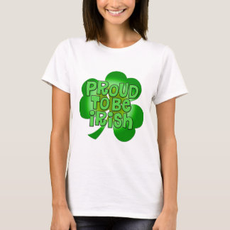 Proud To Be Irish Apparel T-Shirt