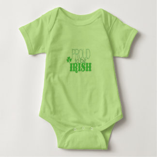 Proud to be Irish Clothing Baby Bodysuit
