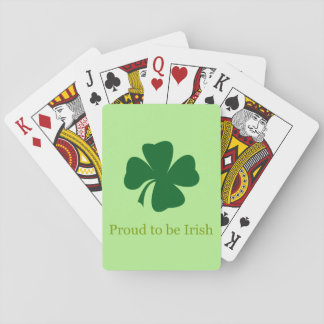 Proud to be Irish Playing Cards