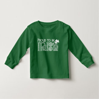 Proud to be Irish, St Patricks Day Celtic Knot Toddler T-Shirt