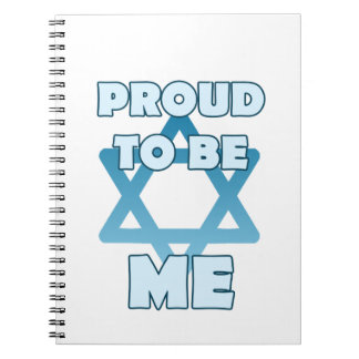 Proud To Be Jewish Notebook