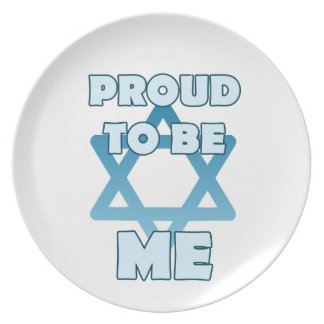 Proud To Be Jewish Plate