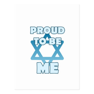 Proud To Be Jewish Postcard