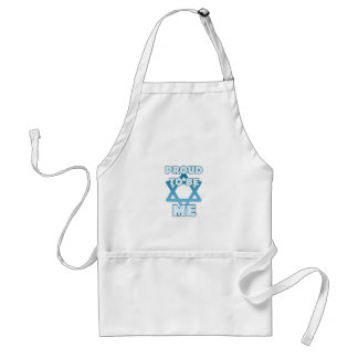 Proud To Be Jewish Standard Apron