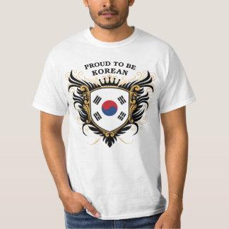 Proud to be Korean T-Shirt