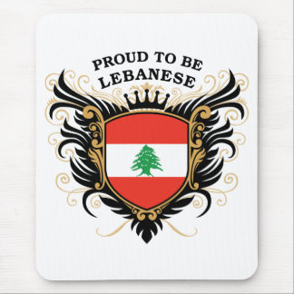 Proud to be Lebanese Mouse Pad