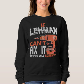 Proud To Be LEHMAN Tshirt