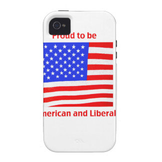 Proud to be Liberal Vibe iPhone 4 Covers
