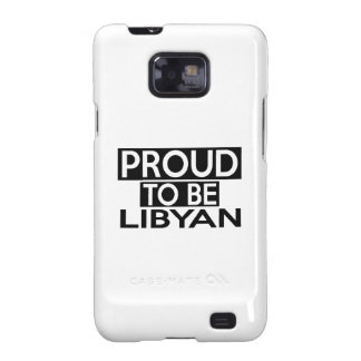 PROUD TO BE LIBYAN GALAXY SII CASES