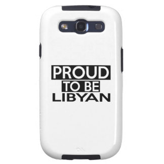 PROUD TO BE LIBYAN SAMSUNG GALAXY SIII CASES