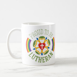Proud to be Lutheran Mug - White