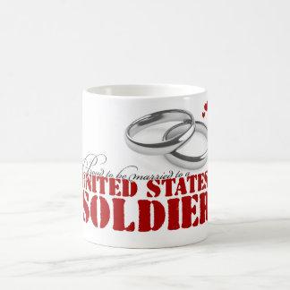 Proud to be married classic white coffee mug