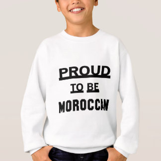 Proud to be Moroccan Sweatshirt