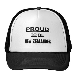 Proud to be New Zealander Cap