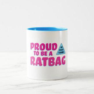 Proud to be Ratbag mug