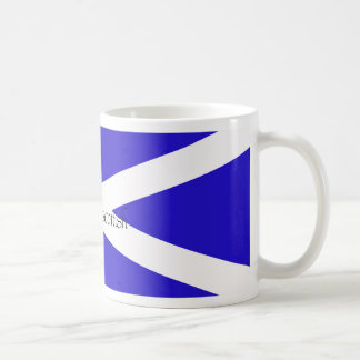 proud to be scottish coffee mug