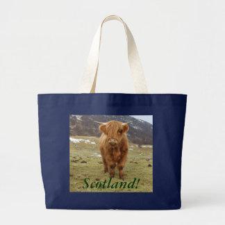 Proud to be Scottish! Large Tote Bag