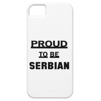 Proud to be Serbian Barely There iPhone 5 Case
