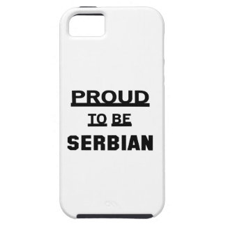 Proud to be Serbian Case For The iPhone 5