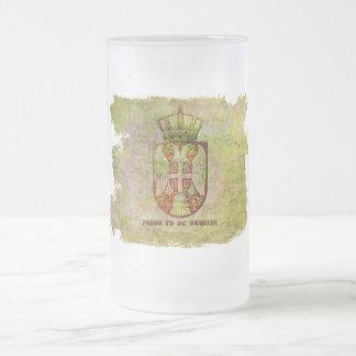 Proud to be serbian mug