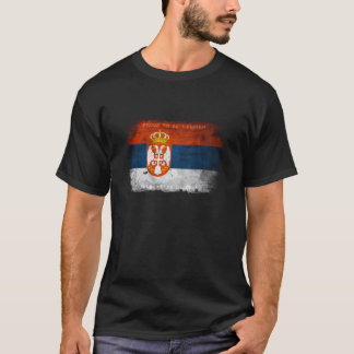 Proud to be serbian t shirt
