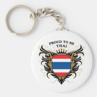 Proud to be Thai Key Ring