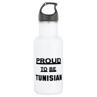 Proud to be Tunisian 532 Ml Water Bottle