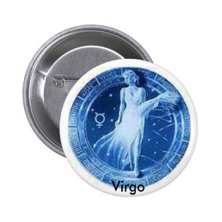 Proud to be Virgo! 6 Cm Round Badge