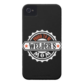 Proud To Be Welder's Mom iPhone 4 Case-Mate Case
