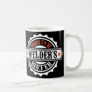 Proud To Be Welder's Sister Basic White Mug