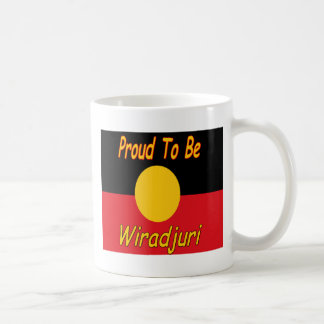 proud to be wiradjuri coffee mug