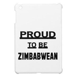 Proud to be Zimbabwean iPad Mini Covers
