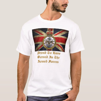 Proud To Have Served In The Armed Forces. T-Shirt