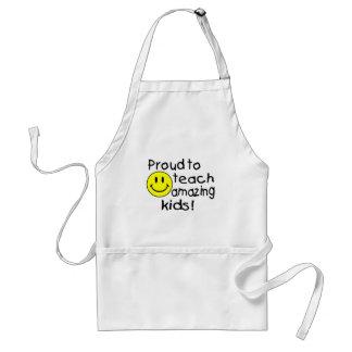 Proud To Teach Amazing Kids (Smiley) Standard Apron