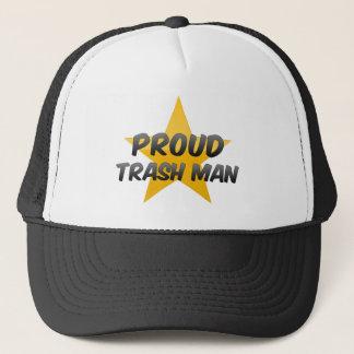 Proud Trash Man Trucker Hat