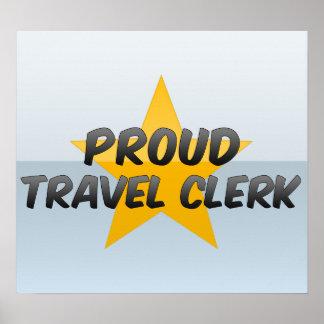 Proud Travel Clerk Poster