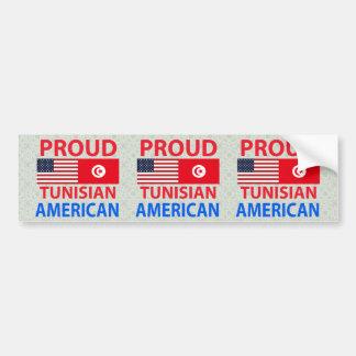 Proud Tunisian American Bumper Sticker