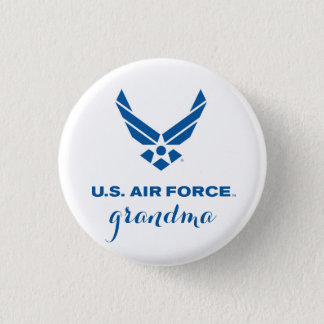 Proud U.S. Air Force Grandma Pin Button