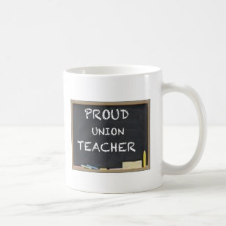 PROUD UNION TEACHER COFFEE MUG
