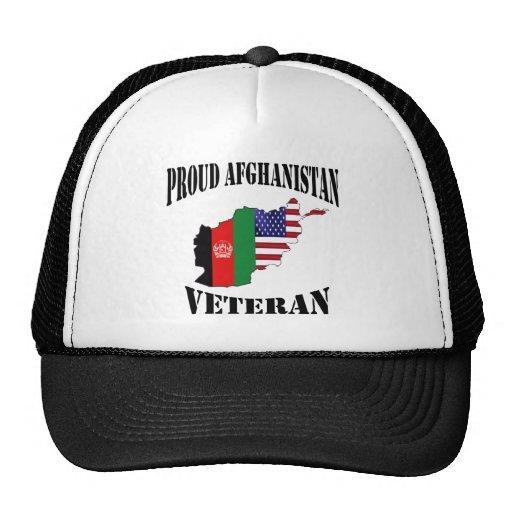 Proud US Afghanistan veteran Mesh Hats