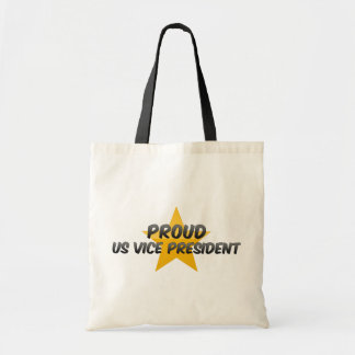Proud Us Vice President Canvas Bag