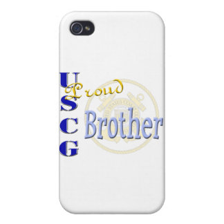 Proud USCG Brother iPhone 4 Case