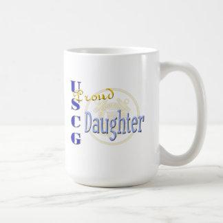 Proud USCG Daughter Coffee Mug