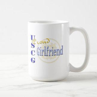 Proud USCG Girlfriend Mug